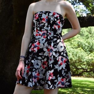 Express Strapless Dress!